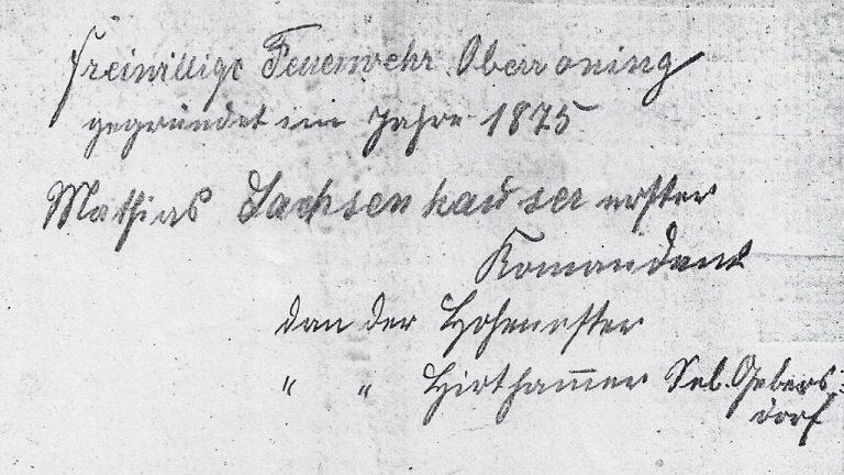 18750701-Gründung-Feuerwehr-Oberroning-Auszug-Gründungsschreiben