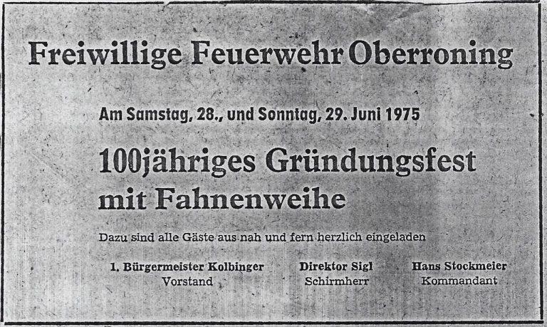 19750629-100-jähriges-Gründungsfest-Zeitungsartikel