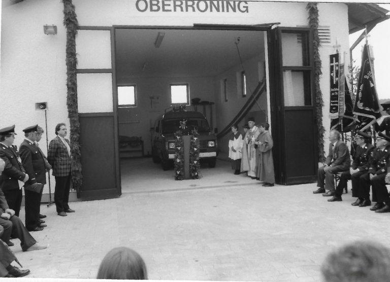 19870802-Einweihung-Feuerwehrgerätehaus-Kirche