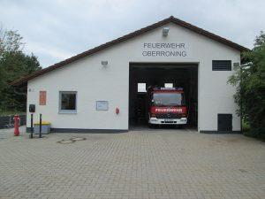 2021_Feuerwehrgerätehaus offen mit LF